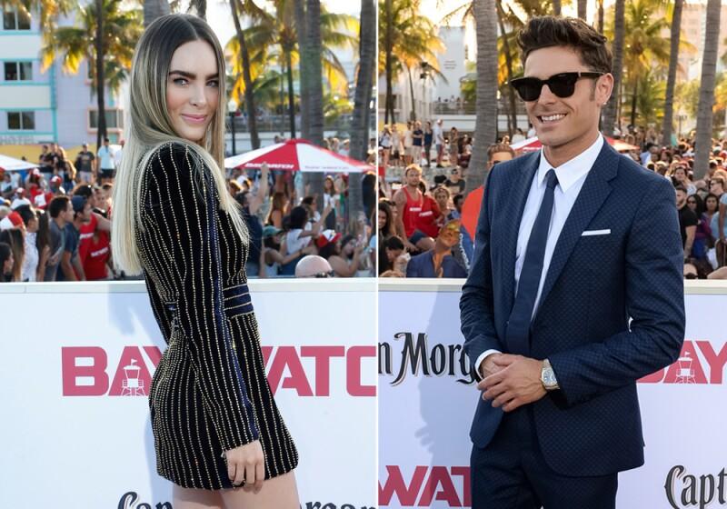 Belinda y Zac Efron