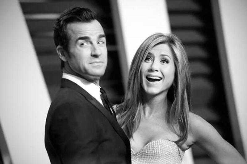 La actriz cumplirá un año de casada con Justin Theroux en agosto próximo.