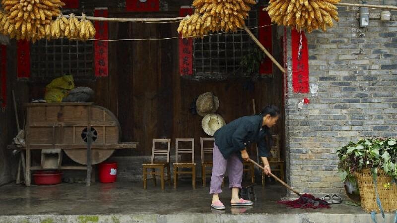 china, limpieza