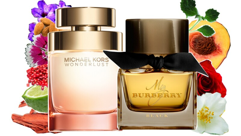 Michael Kors Wonderlust y Burberry My Burberry Black