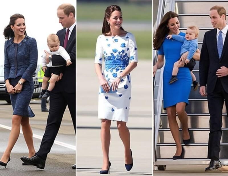 El guardarropa de la duquesa de Cambridge, durante su gira por Australia y Nueva Zelanda costó £ 38,000.
