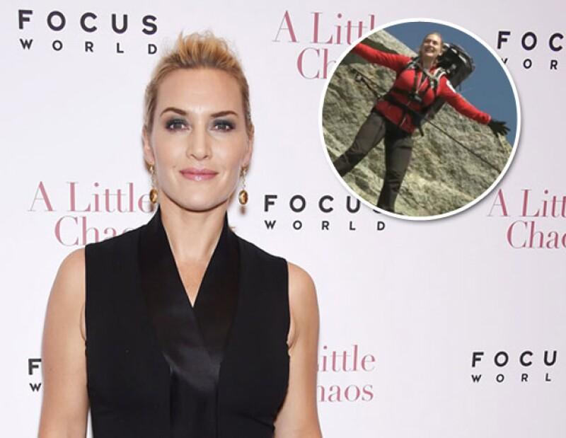 Kate Winslet revivió la icónica escena junto a Leonardo Dicaprio, colgando de un arnés en un acantilado, además Colin Farrell será padrino de una boda gay y Miley Cyrus nos prepara para los VMA&#39s