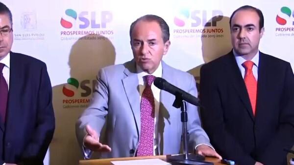 Gobernador de San Luis Potosí reacciona a decisión de Ford