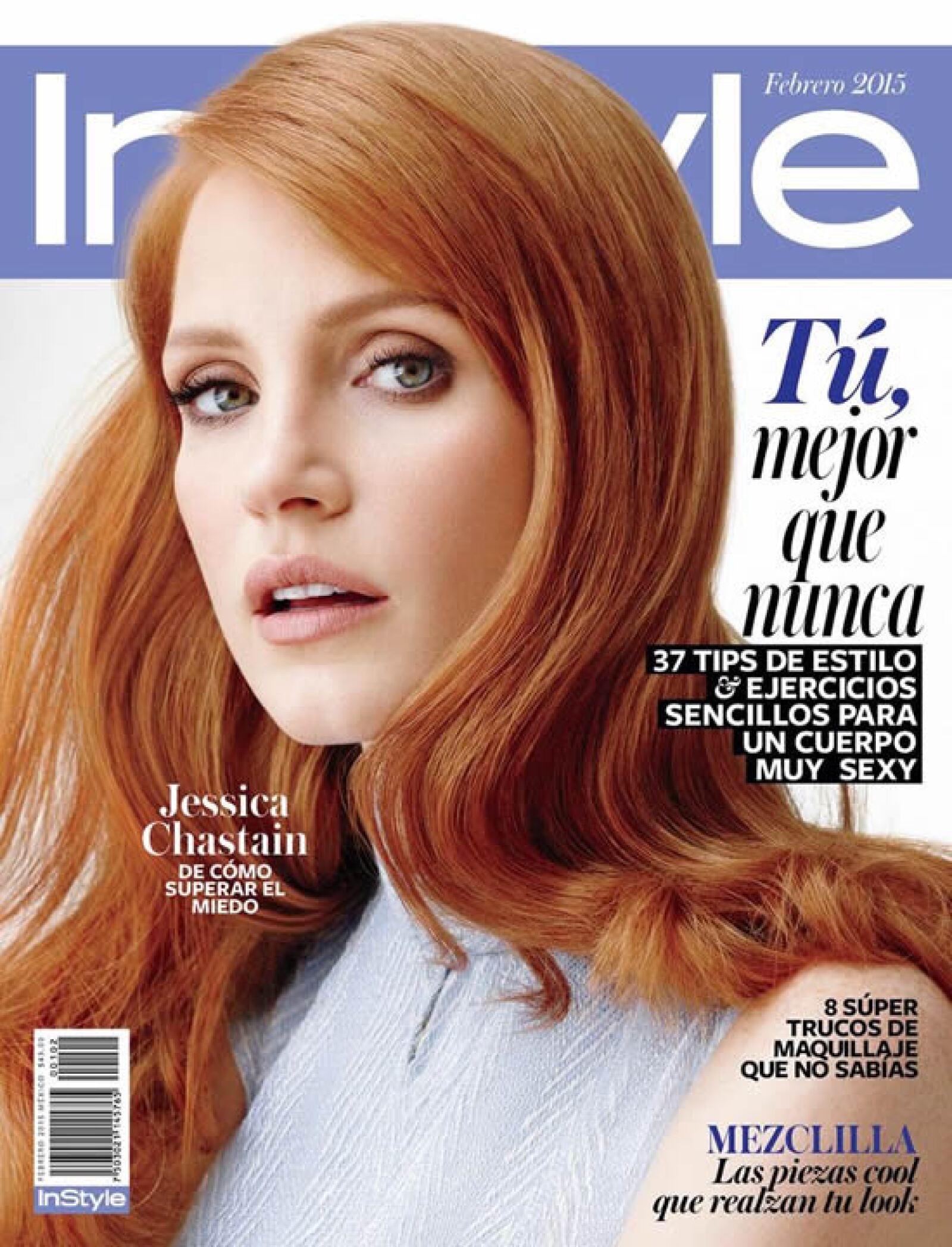 Jessica Chastain se ve espectacular en la portada de InStyle México.