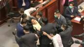 Reviven los enfrentamientos en Hong Kong en plena pandemia