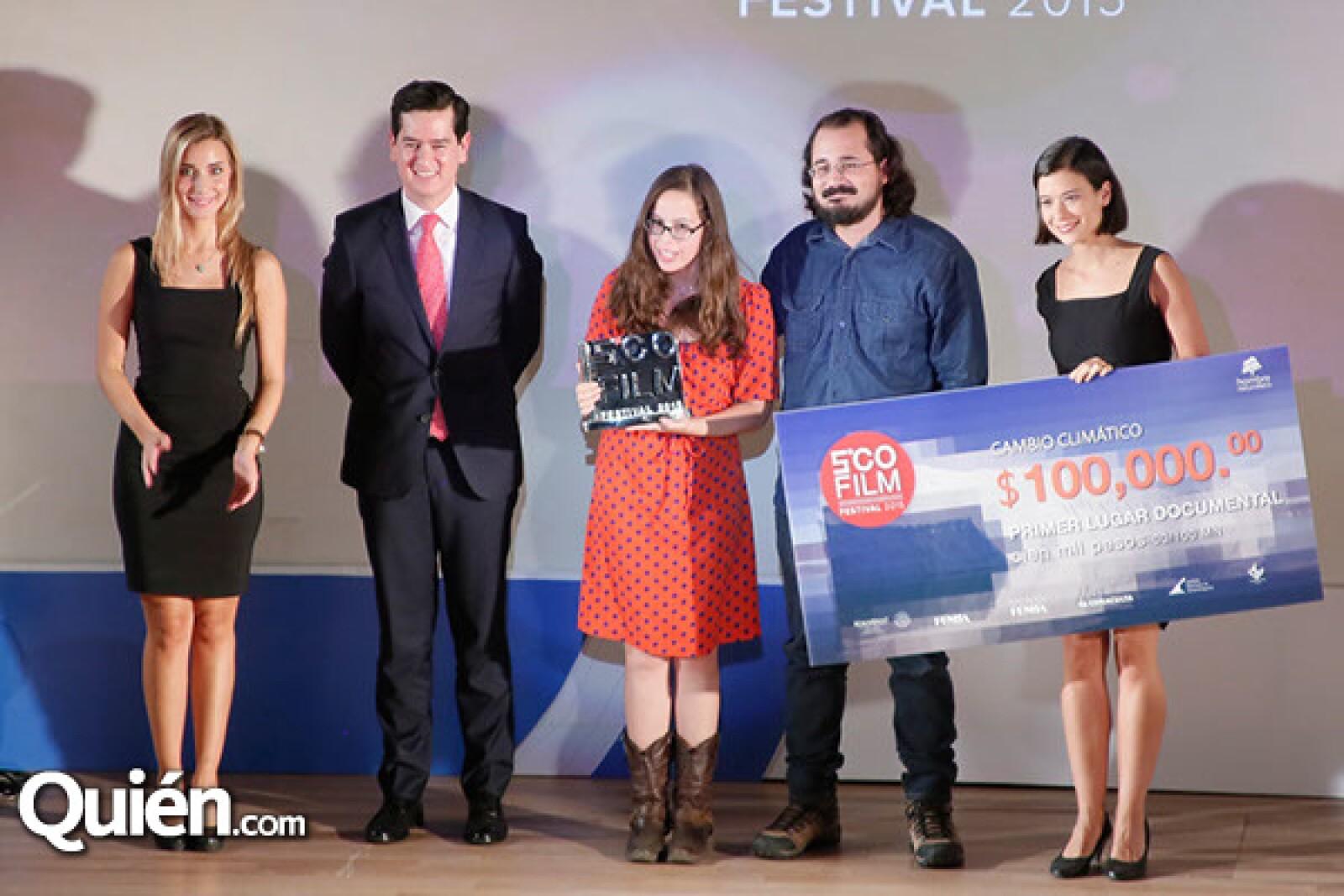 Luis Fernando Ramírez,Susana Bernal y Santiago Torres