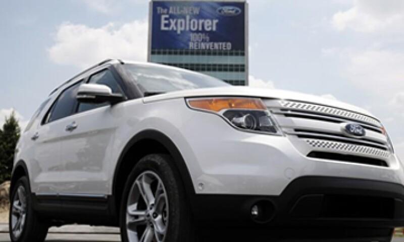 Ford dijo que no tiene conocimiento de accidentes en México por las fallas en los vehículos. (Foto: Reuters)
