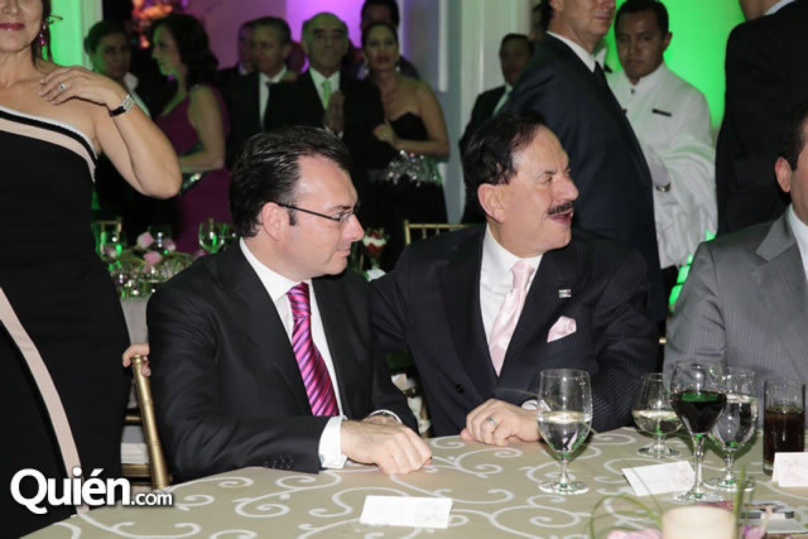 Luis Videgaray (Secretario de Hacienda y Crédito Público),Juan Francisco Ealy Ortiz