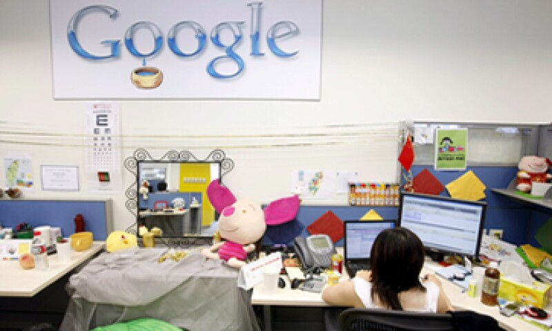 La ganancia por acción de Google fue de 4.93 dólares. (Foto: AFP)