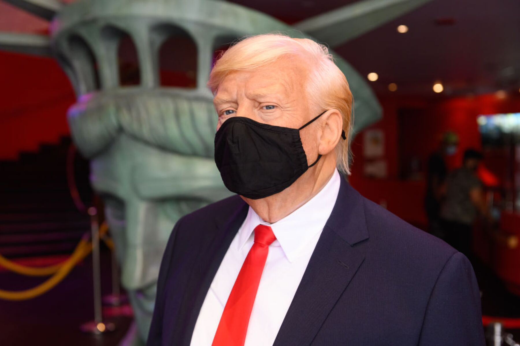 Madame Tussauds Re-Opens In Times Square