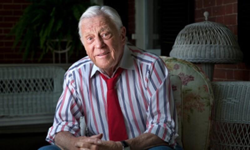 Bradlee ha sido el editor que más tiempo ha durado al frente del Washington Post. (Foto: Getty Images)