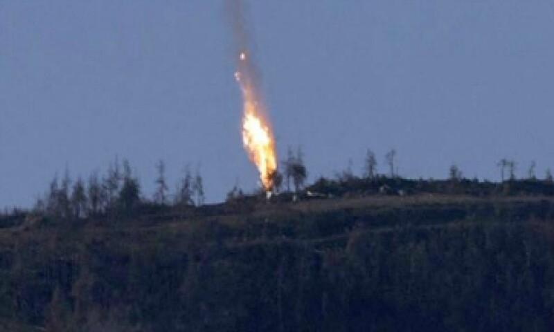 Es la primera vez en décadas que un país de la OTAN ha derribado una aeronave rusa o soviética. (Foto: EFE)