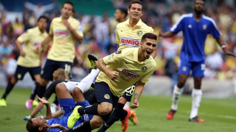 Para el América, todo fue festejo tras haber goleado a Bayamón de Puerto Rico en la Liga de Campeones de la Concacaf