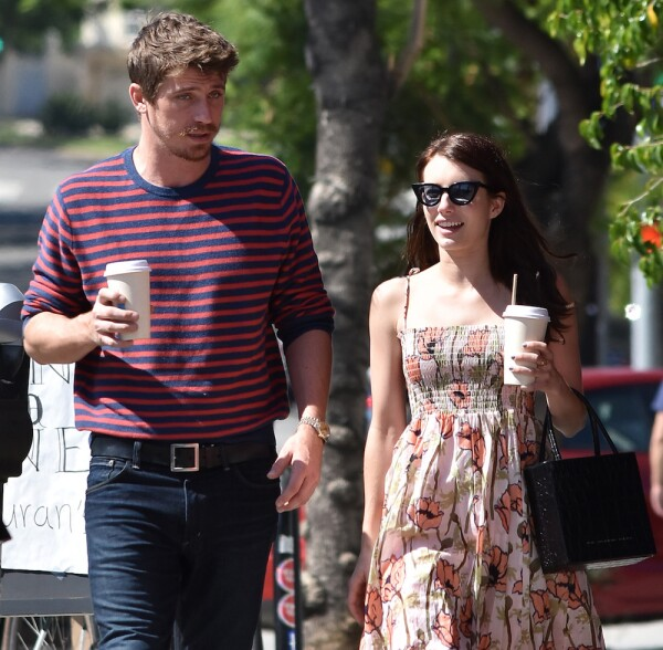 Emma Roberts and Garrett Hedlund out and about, Los Angeles, USA - 31 Jul 2019