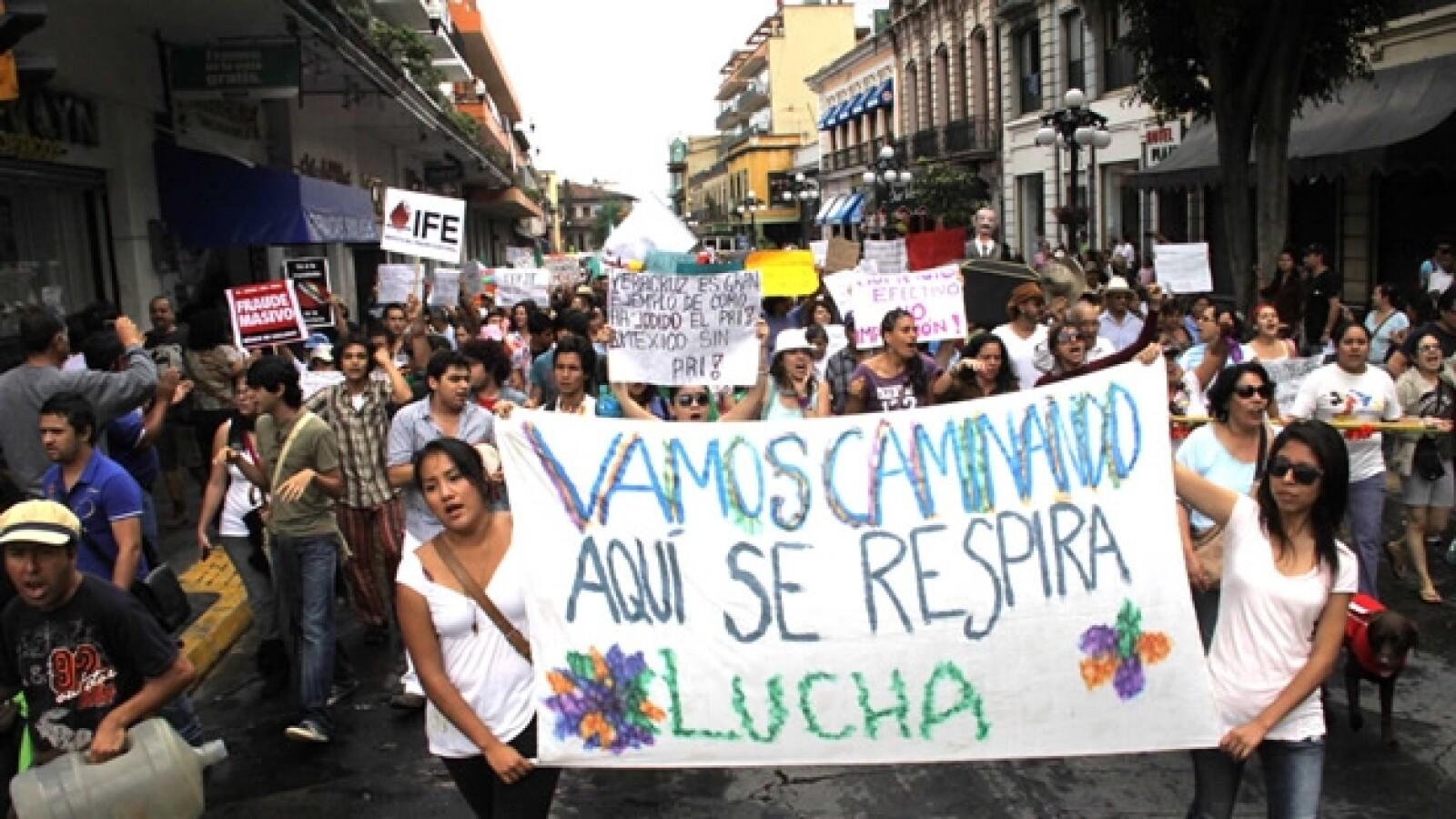 xalapa yosoy132 marcha 22 de julio