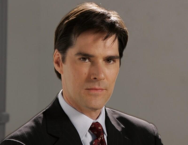 Thomas Gibson interpreta al agente Aaron Hotchner en la serie Criminal Minds.