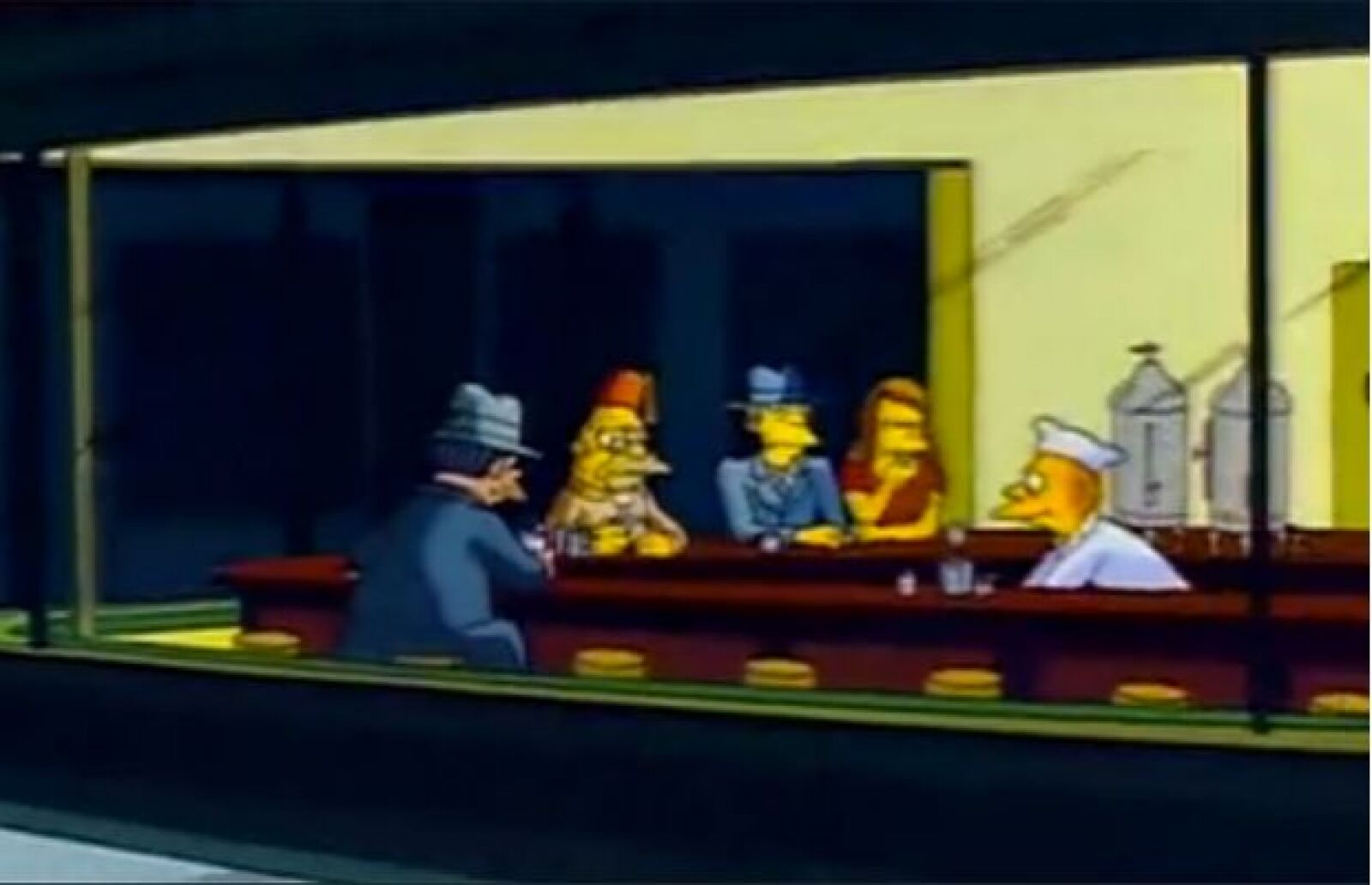 10 obras de arte parodiadas en Los Simpsons