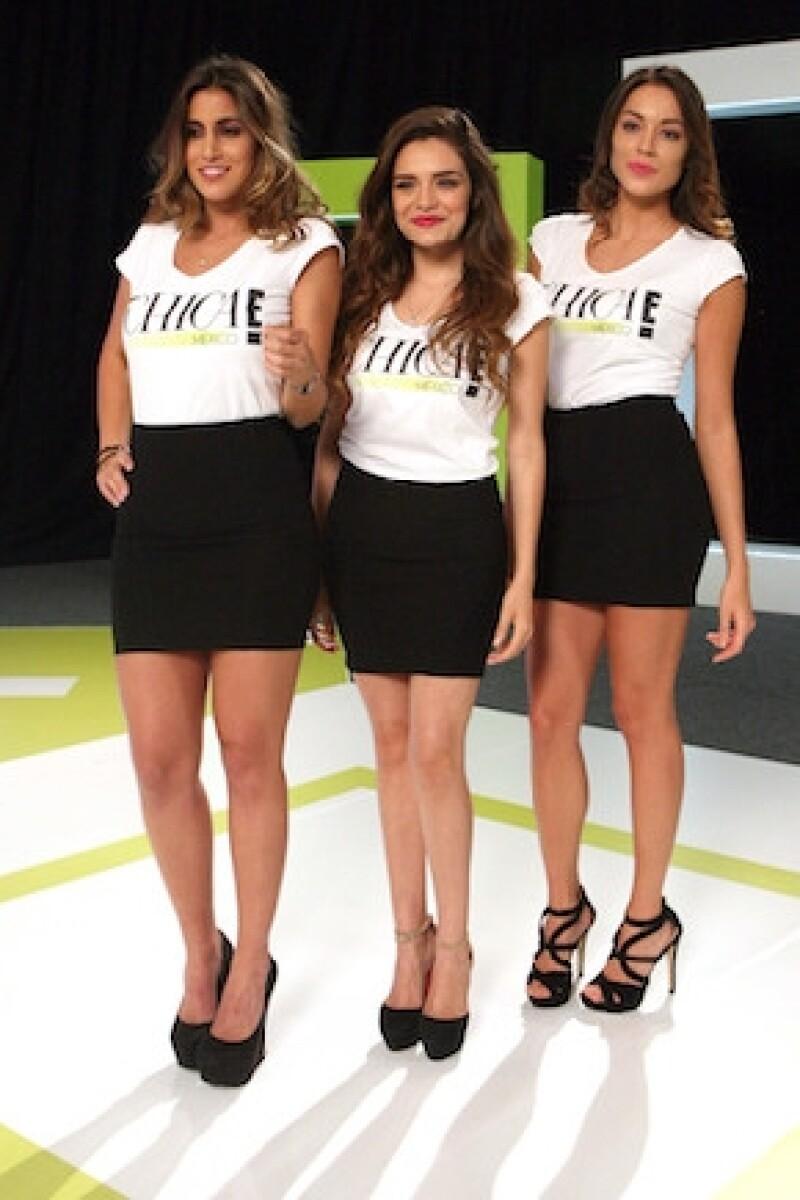 Sofía Rivera Torres, Tania Rendón y Alejandra Aguayo.