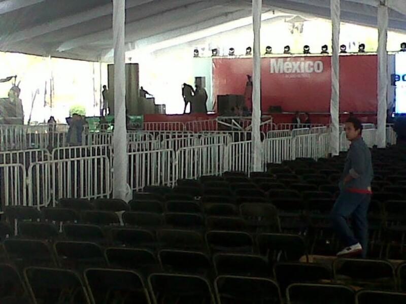 De resultar ganador Enrique Peña Nieto en las elecciones, podría ser Alejandro Fernández o Espinoza Paz quienes amenicen el concierto de celebración.