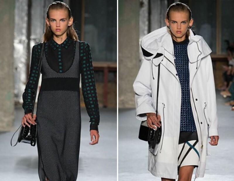 Su primer pasarela fue Proenza Schouler en el New Yor Fashion Week en septiembre de 2014