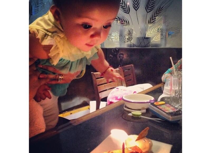 La bebita de Angélica Vale y Otto Padrón cumplió ayer jueves su primer año de vida.