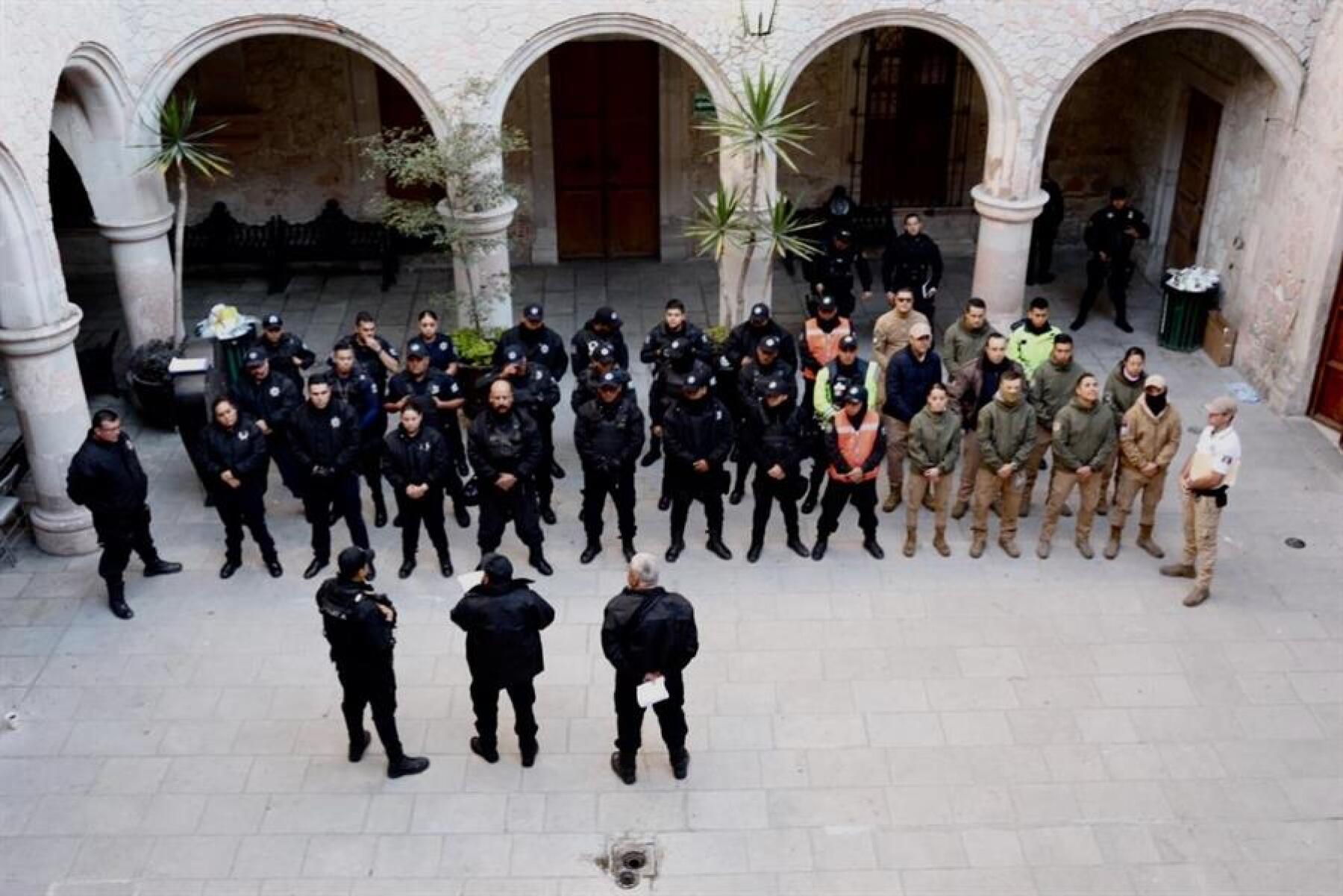 Policías de San Juan de los Lagos