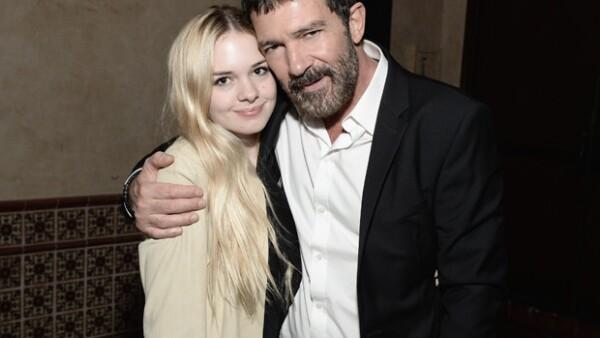 Stella es la hija de Antonio Banderas y Melanie Griffith.