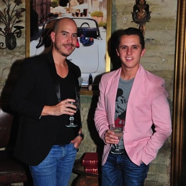 Juan Pablo Partida y Luis Lozano