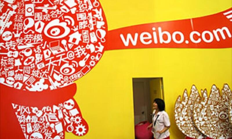 Sina Weibo se ha convertido en la principal red social en China con 368 millones de usuarios. (Foto: Cortesía Fortune)