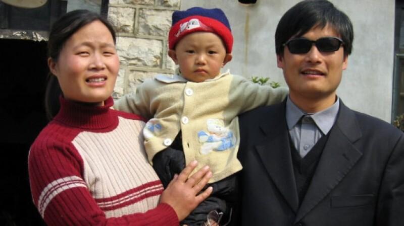 Chen Guangcheng activista chino ciego escape
