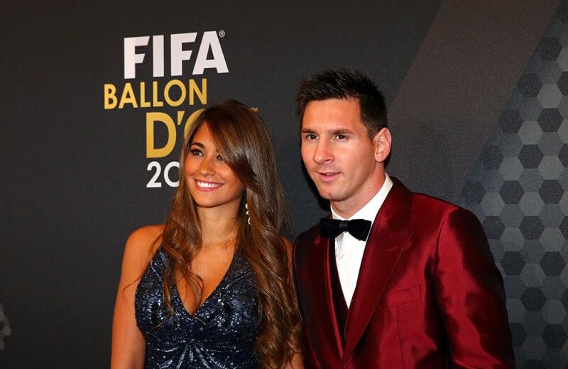 Lionel Messi y Antonela Roccuzzo