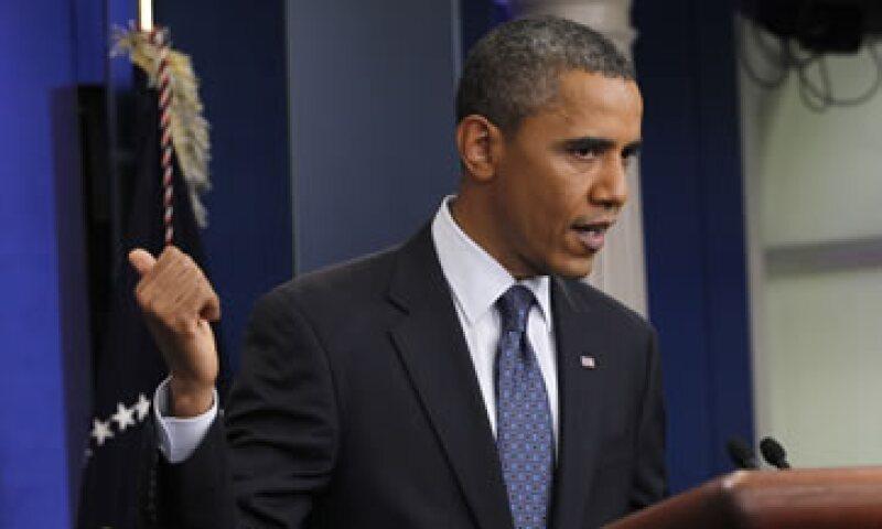 Barack Obama admitió la víspera que es probable que se haya cerrado la ventana para un gran acuerdo. (Foto: Reuters)