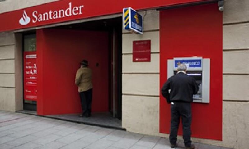La unidad mexicana de Santander tiene 9.58 millones de clientes. (Foto: Reuters)