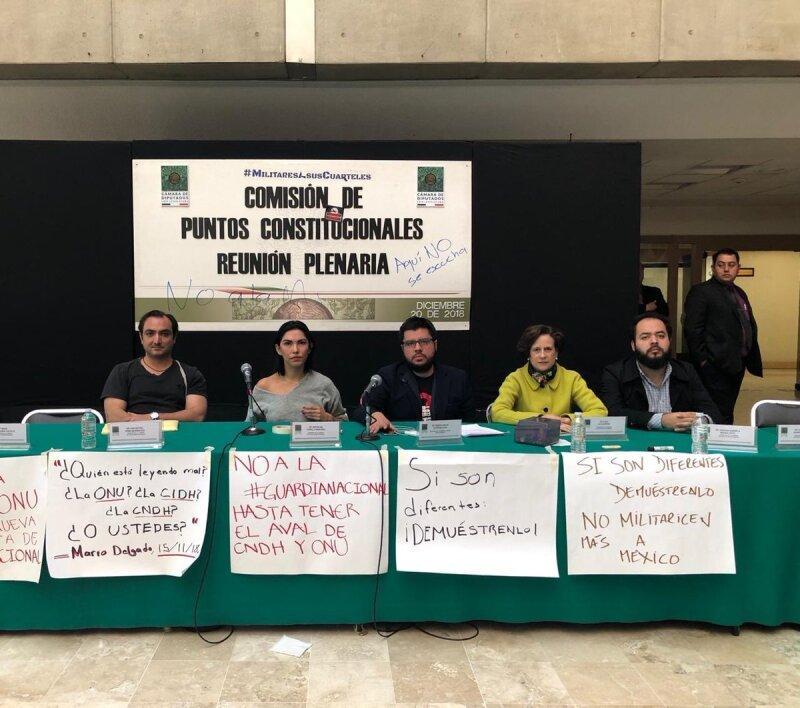 Comisión Puntos constitucionales