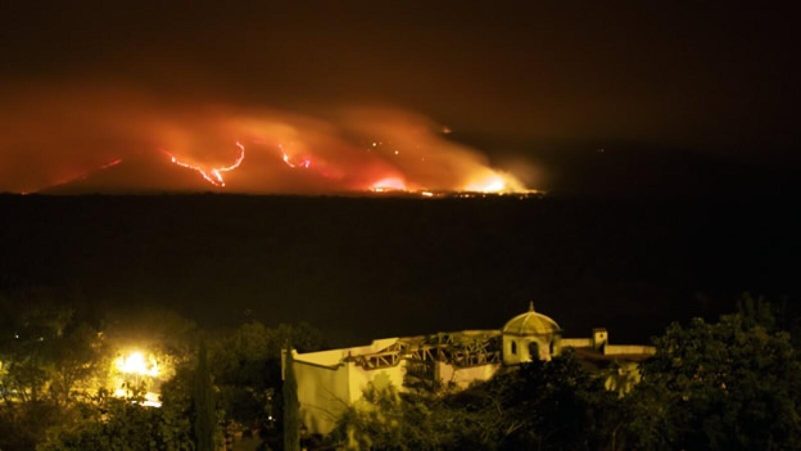 incendio La primavera guadalajara 1