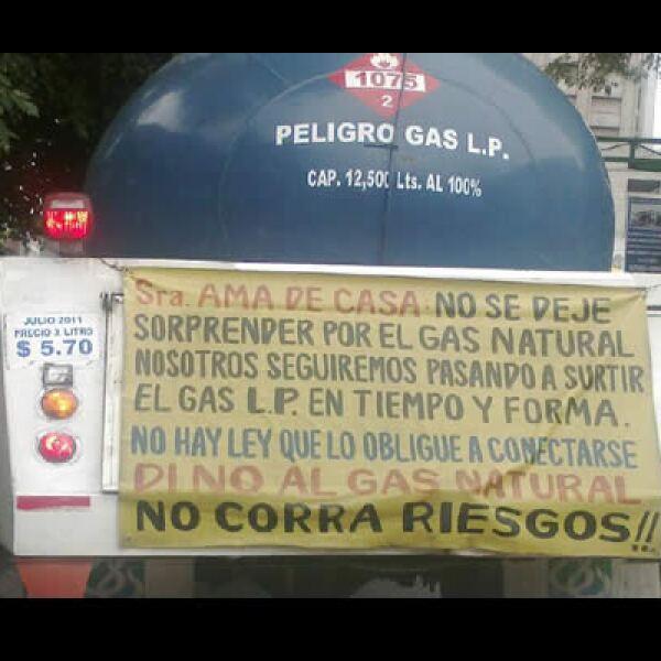 Amexgas, quien representa al gremio del gas LP, niega que hayan organizado a sus empresas para tales bloqueos.