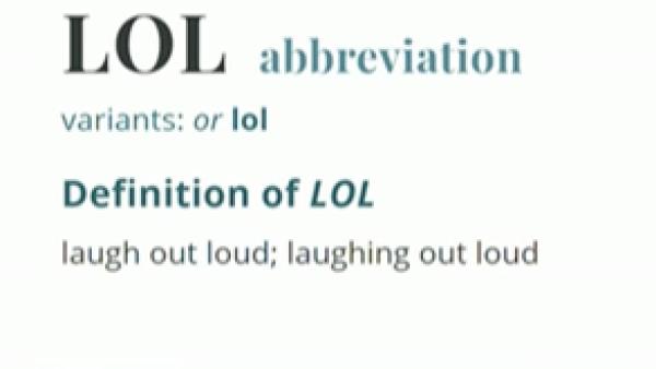El diccionario de Webster aprueba palabras como 'lol' o 'instagramming'