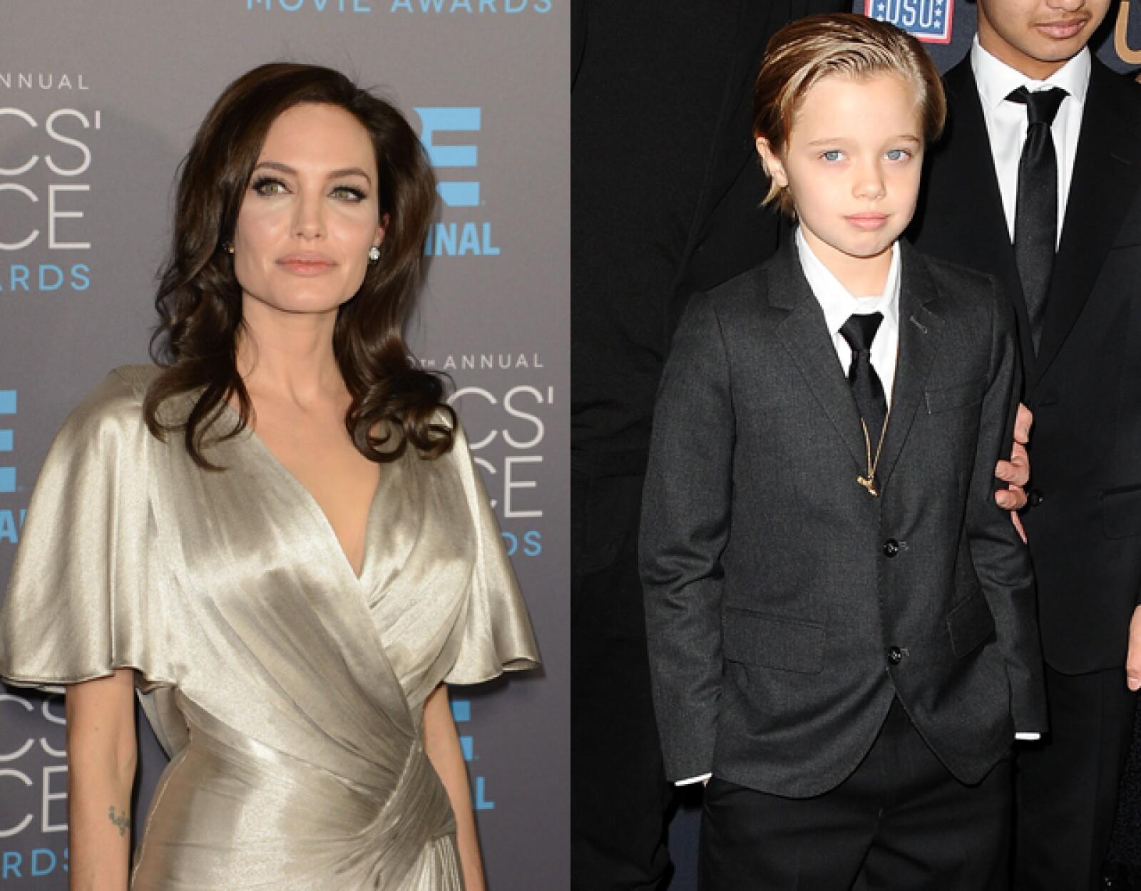 Shiloh Jolie Pitt, hija de Angelina Jolie y Brad Pitt.