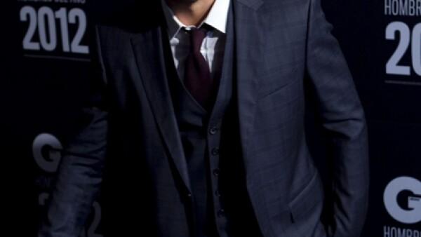 El canadinse desfiló en un hotel de Santa Fe, en la alfombra del evento GQ Hombres del Año.