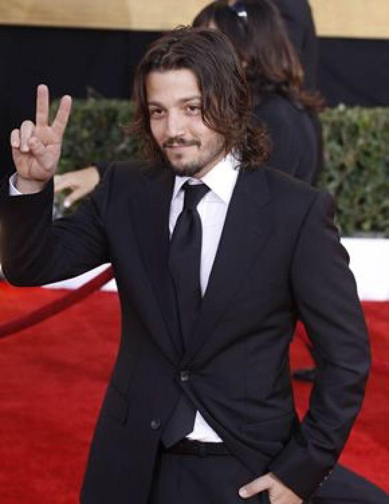 El charolastra acudió a la entrega de los premios otorgados por el Sindicato de Actores el pasado sábado en Los Ángeles, donde el actor estadounidense ganó como mejor actor.