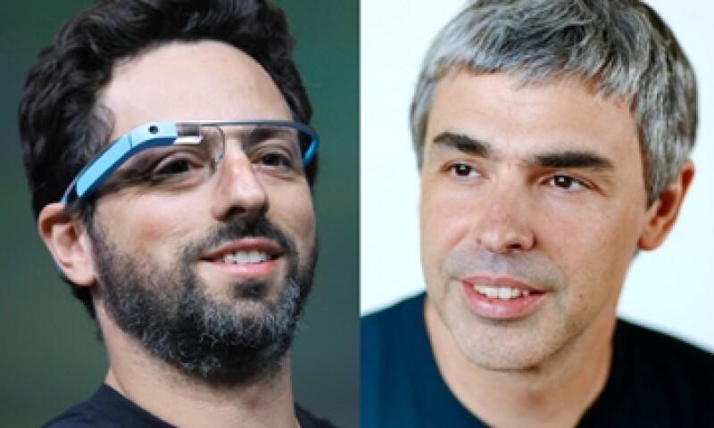 Sergey Brin (izquierda) dirige el grupo de investigación de Google y Larry Page (derecha) es CEO de la compañía. (Foto: tomada de cnnmoney.com)