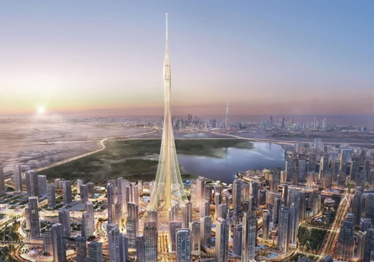 La torre que promete ser la más alta del mundo ya tiene cimientos