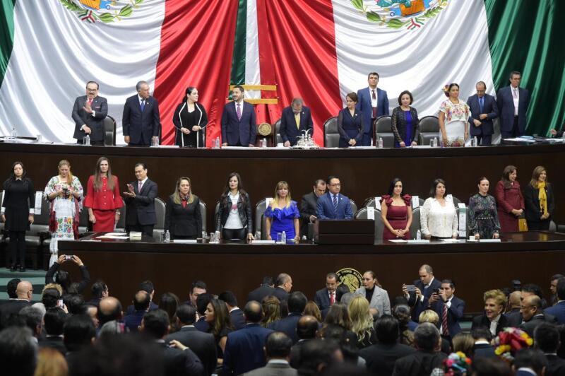 Sesión en el Congreso