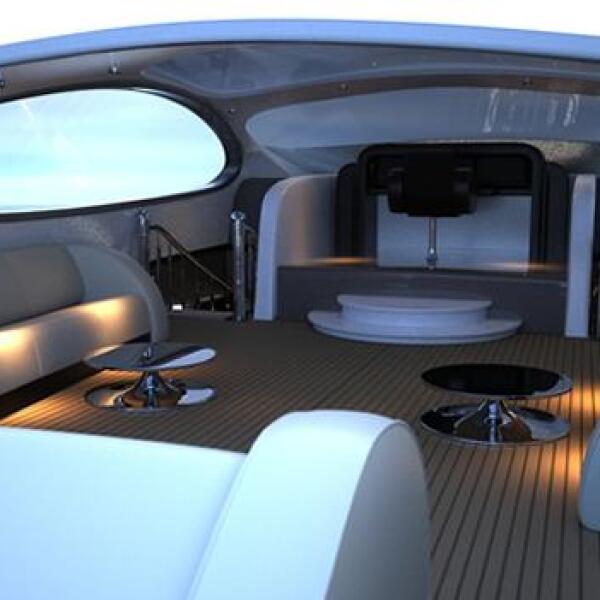 super yate super deportivo cabina tecnologia