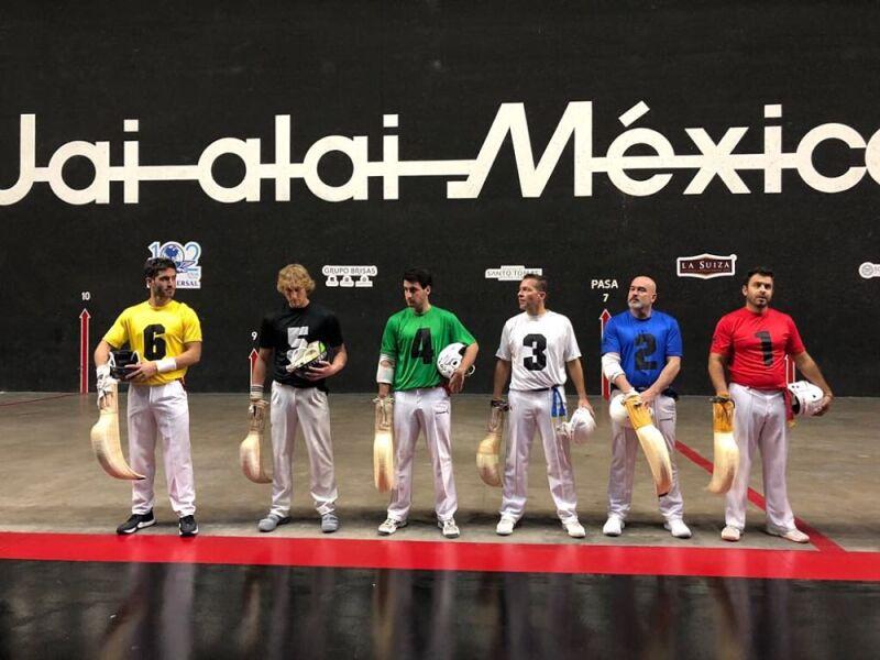 Pelotaris Frontón México