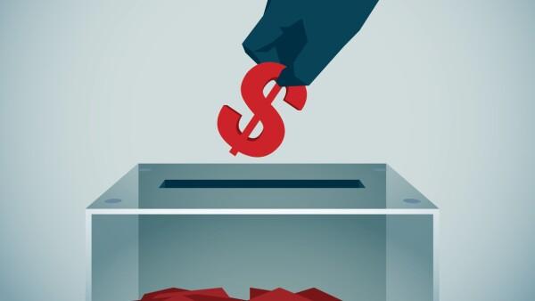 Dinero en campañas