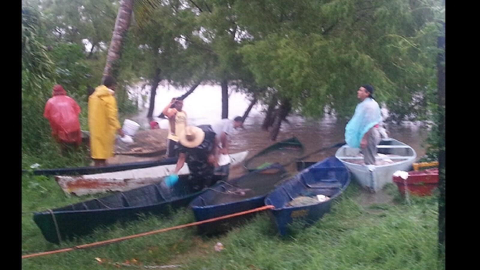 pescadores Rio la Antigua Veracruz Barry
