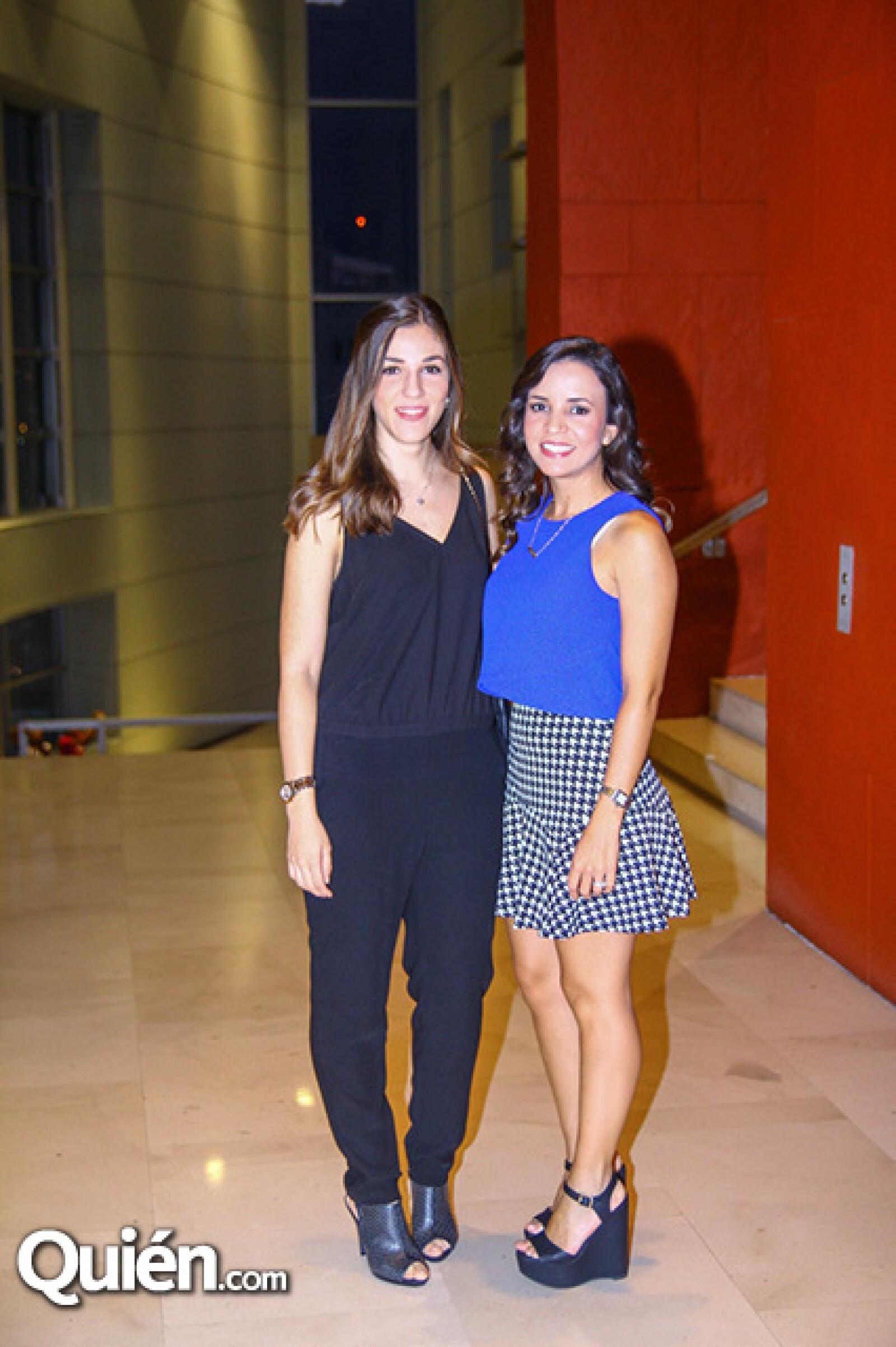 Eva de la Garza y Cristina Garza