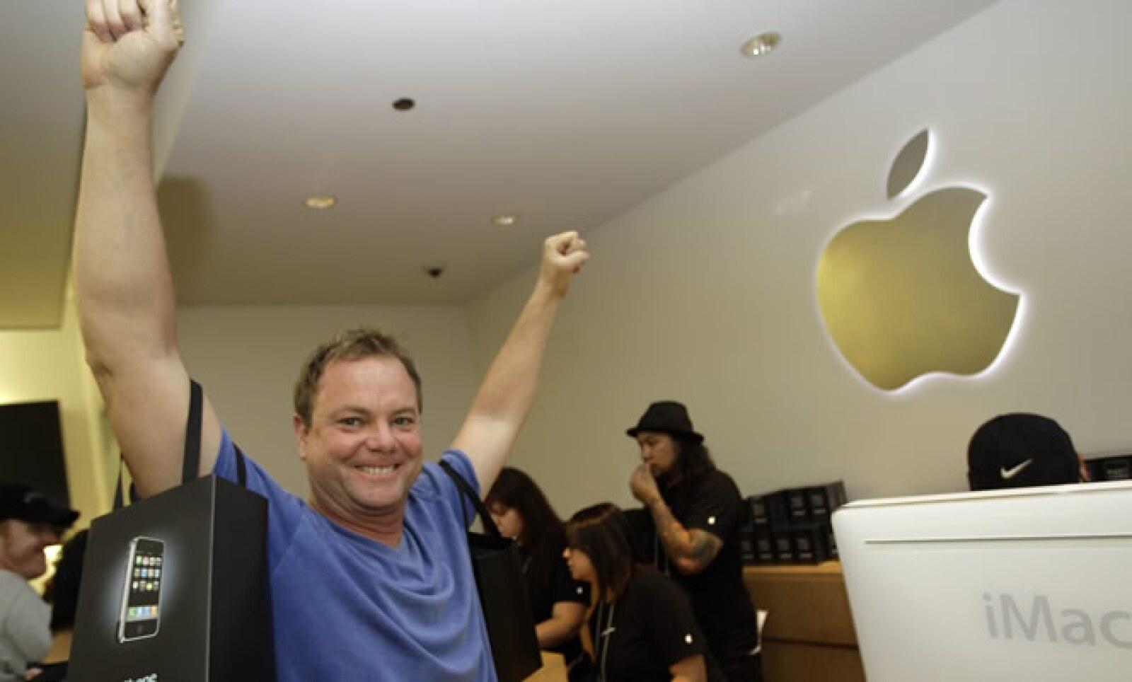 La primera generación del iPhone vendió 6.1 millones de unidades.