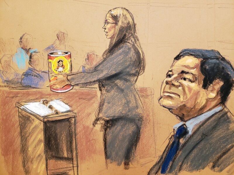 Chapo Guzmán juicio jurado abogado